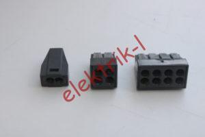 Клеммники WAGO с пастой для соединения алюминиевых и медных проводов