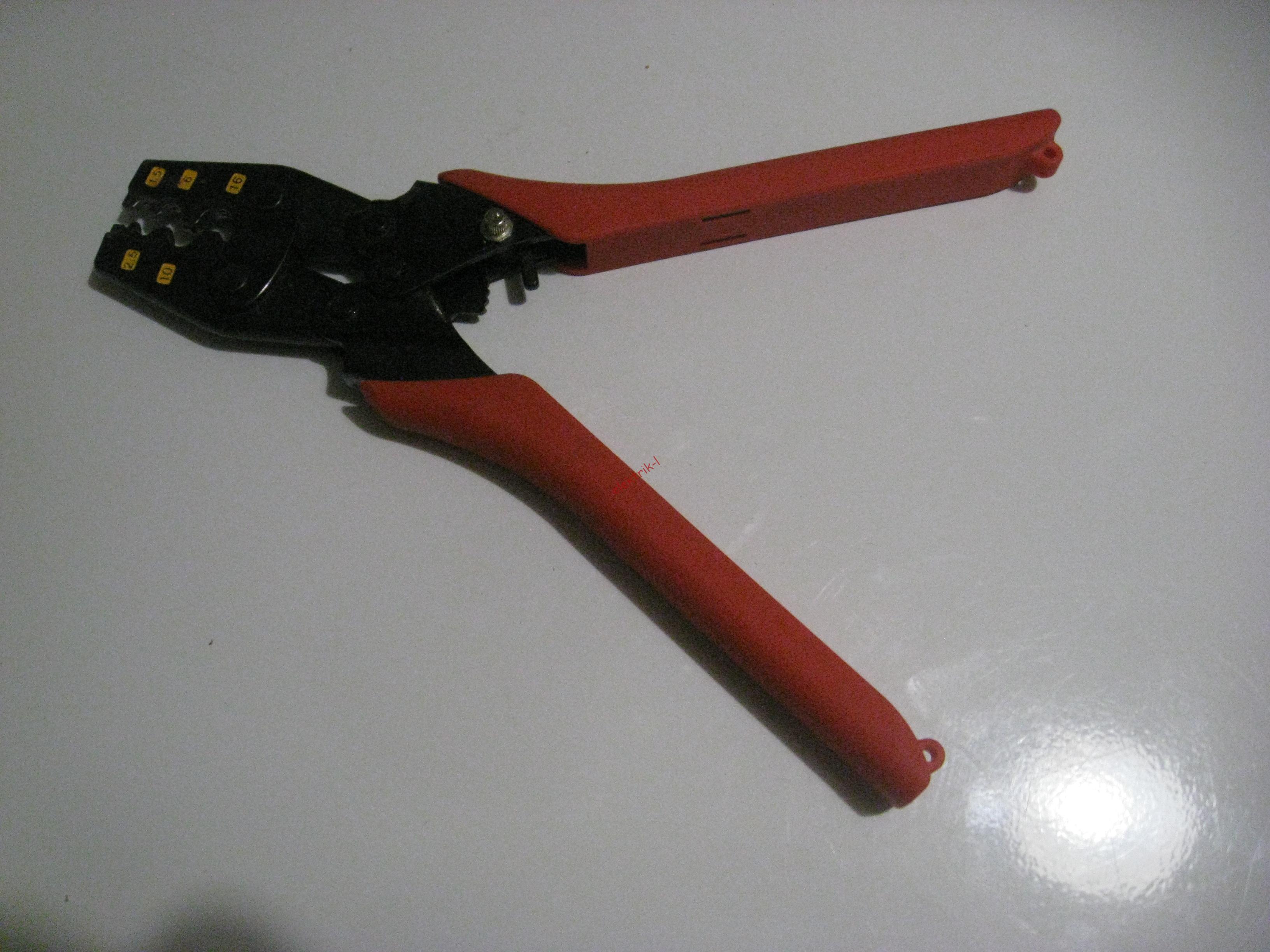 Пресс-клещи ПК-16у для обжима неизолированных наконечников ТМЛ и гильз ГМЛ